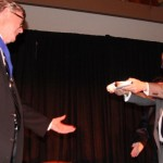 Actor Richard Thomas Presents Lifetime Achievement Award To Nelson's Earl Hamner