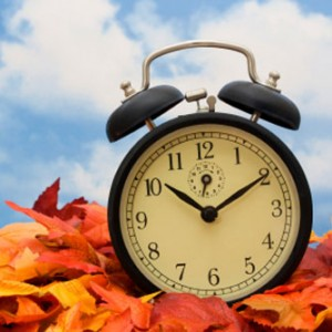 Fall Back This Weekend : Daylight Saving Time Ends