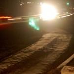 Nasty Winter Night Across Nelson County