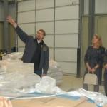 VA Governor Bob McDonnell Tours Devils Backbone Outpost In Lexington