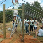 APO Lends Hand In Construction At North Branch School