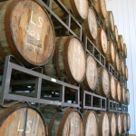 Beer aging in Barrel. Photo by Tommy Stafford.