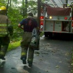 Lightning Starts Second House Fire In Stoney Creek / Nellysford