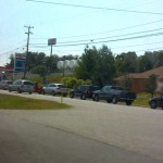 Gas Lines Becoming Familiar Sight After Power Outages