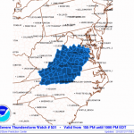 Wintergreen, Nelson & Surrounding Areas : Severe Thunderstorm Watch - CANCELED