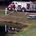 Near Nellysford: Area Fire Crews Battle Blaze On Gulleysville Ln Off Of Adail