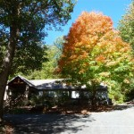 Signs Of Fall Creeping Down The Blue Ridge Mountains