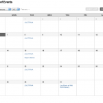 Online Events Calendar - It's Back & Better Than Ever - Try It Now!