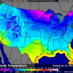 Brutally Cold Weather Takes Hold Over Central VA Blue Ridge For Most Of Week