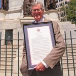 Nelson : Schuyler's Earl Hamner, Jr. Receives VA Senate Proclamation