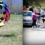 Kites & Triathlons This Past Weekend