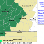 FLASH FLOOD WATCH: Through Late Sunday Evening For Most S Central & W VA Counties