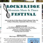 Rockbridge Mountain Music & Dance Festival Gets Underway Friday Through Saturday
