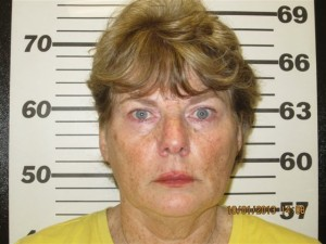 Photo via Nelson County Sheriff's Office : Linda Campbell Blackwell was indicted by a special grand jury on Tuesday - October 1, 2013 in Nelson County.