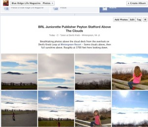 To see lots more photos above the clouds this past Saturday -  November 16, 2013 - just click on our Facebook Album above.