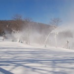 Snowmaking Officially Underway At Wintergreen Resort