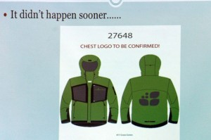 A general idea of the new uniforms ski instructors will be sporting during the 2013-2014 winter season. The new uniforms will be green with black trim.