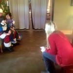 Santa Making Visits Across The Blue Ridge