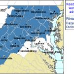 Back To Winter Weather Advisory For Most of Blue Ridge Area : Warning Canceled