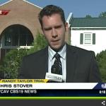 Randy Taylor Murder Trial In Hands Of Jury - Deliberation Begins Thursday Morning : Video Via CBS-19