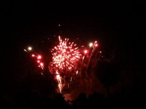 The chilly temps didn't matter even if it was July. Was the perfect backdrop for the annual fireworks display at Wintergreen Resort this past July 4th, 2014