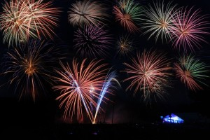 ©2014 Blue Ridge Life : Photo By BRL Mountain Photographer Paul Purpura : Fireworks lit up the sky this past Friday evening - July 4th, 2014 at the annual event held by Wintergreen Resort.