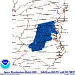 Severe Thunderstorm Watch - CANCELED