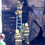 Nelson: Fire Crews Battle Sunday House Fire On Lobbans Lane in Afton