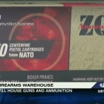 Plans for an Ammunition and Firearms Warehouse in Nelson County : Via CBS-19