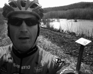 Woody Elliott, from the Blue Ridge Life's Embrace the Adventure column, checks out the #FinishWithGold Adventure Triathlon course at the James River State Park.
