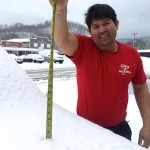 Early March - Snowfall Hits The Blue Ridge Again!
