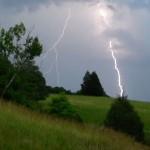 Storms Roll Through Blue Ridge Area