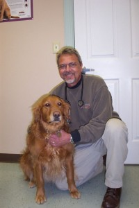 Long since retired, Dr. Steve Lotz still remains one  of our best friends today. We just saw him last Monday. Here he's in a story from our very first issue in April 2005.