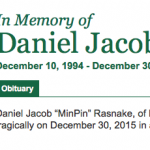 Funeral Arrangements Released For 21 Year Old Daniel Rasnake