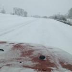 Heavy Snowfall Hits The Blue Ridge Area
