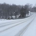 Snowday : Winter Storm Hits Virginia Blue Ridge : Many Schools Closed Tuesday