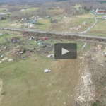 Aerial Drone Footage Of Destruction From Deadly Appomattox Tornado