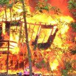 Nelson: Fire Destroys Home On Mayswood Lane Near Lovingtson