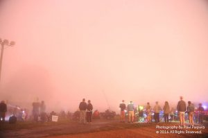 Photo By BRLM Mountain Photographer Paul Purpura : This is about as good as it got for fireworks July 4th night  up at Wintergreen Resort. Clouds prevented folks from being able to see much more than this diffused display of colors as the fireworks exploded. July 4, 2016