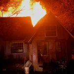 Nelson : Nellysford : Saturday Morning Fire Destroys Home - Then Starts Brush Fire