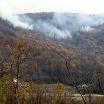 Nelson : Lovingston : Eades Hollow Wildfire Update : Photo Updates 3PM