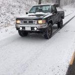 Snow Begins Falling At Wintergreen And Along The Blue Ridge Parkway Sunday Afternoon