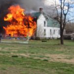 News Alert : Nelson : Afton : Crews Work Fully Involved House Fire : Updated 6PM
