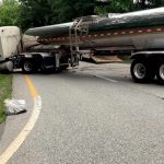 Nelson : Faber : VSP - One Person Has Died From Saturday Tanker / Car Crash On Route 29