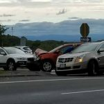 Afton Mountain : Crews Work To Clear Morning Accident On Route 250 At 64 Entrance