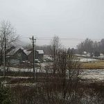 Snow Hits Area Then Turns To Rainy Mess (Video)