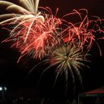 Fireworks Light Up The Sky Over Wintergreen For President's Day Weekend
