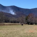 Downed Power Lines Spark Forest Fire Near Wintergreen Entrance (2:40 PM - Under Control)