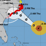 Hurricane Florence Continues Southward Drift - Better News For Central Virginia  -  Bears Watching