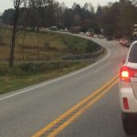 Nelson : Auto Crash Temporarily Blocks Route 151 Between Pounding Branch Road & Bland Wade - Reopened